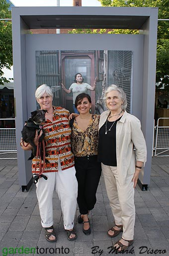 Kathleen Layne, Meera Margaret Singh and Edith Layne