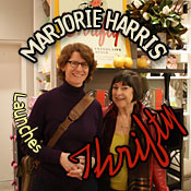 Marjorie Harris launches her new book Thrifty