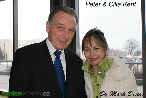 Peter Kent (M.P. & Minister of the Environment). and Cilla Kent