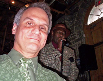Errol Fisher performs at Tappo Restaurant